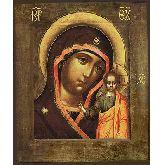 Цена иконы Богородица Казанская арт БК-22 12х10