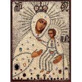 Стоимость иконы Богородица Мариупольская арт БМ-01 12х9