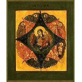 Купить икону Богородица Неопалимая Купина арт НК-01 24х20