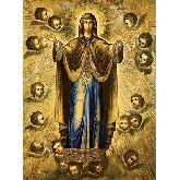 Купить икону Богородица Нерушимая Стена арт БНС-01 12х9