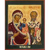 Купить икону Богородица Оковецкая арт БОК-01 36х28