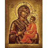 Купить икону Богородица Тихвинская арт БТ-01 18х14