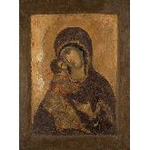Цена иконы Богородица Владимирская арт БВ-07 18х13