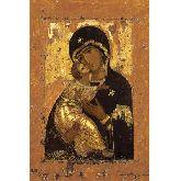 Цена иконы Богородица Владимирская арт БВ-04 60х40