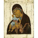Цена иконы Богородица Взыграние Младенца арт БВ3-01 12х9,5