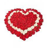 """Букет цветов """"Большое сердце"""""""