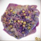 Букет цветов Большое сердце