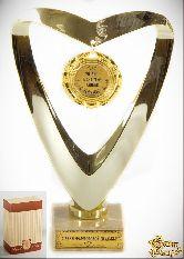 Кубок подарочный Сердце 20 лет в счастье, любви и согласии