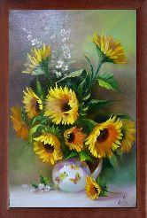 Букет желтых ромашек