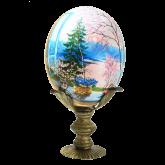 Пасхальное яйцо страусиное Пасхальное утро