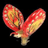 Ёлочная игрушка из Польши Бабочка