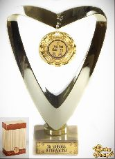 Кубок подарочный Сердце Золотой сыночек