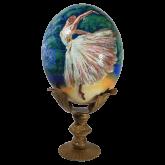 Пасхальное яйцо страусиное Балерина