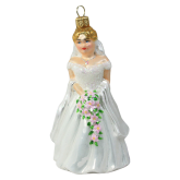 Ёлочная игрушка из Польши Невеста