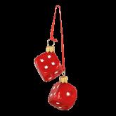 Ёлочная игрушка из Польши Кости