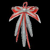Дизайнерская игрушка Серебрянные шишки