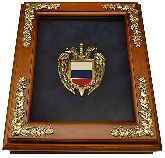 "Деревянная ключница ""Эмблема ФСО"""