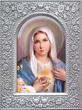 Дева Мария Гальванопластика 95х125