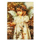 Девочка ангел из янтаря