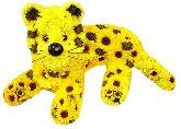 """Игрушка из цветов """"Добрый леопард"""""""