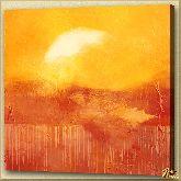 Зарево, картина, Модерн пейзаж №12