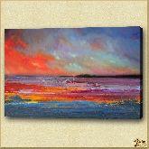 Блики моря, картина, Модерн пейзаж №19
