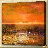 Болото, картина, Модерн пейзаж №27
