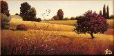 Поле у дома, картина, Модерн пейзаж №28