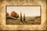 Одинокие деревья, картина, Модерн пейзаж №31