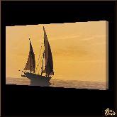 Яхта, картина, Модерн пейзаж №42