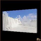 Белый водопад, картина, Модерн пейзаж №49