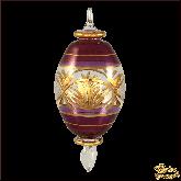 Ёлочное украшение из Египта Holy Night фиолетовый
