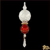 Ёлочное украшение из Египта Crystal красный