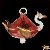 Ёлочное украшение из Египта Swan красный