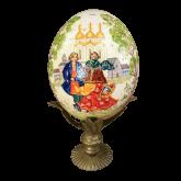 Пасхальное яйцо страусиное Освящение