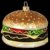 Ёлочная игрушка из Польши Бургер