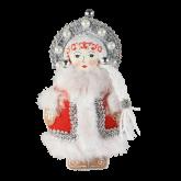 Дизайнерская игрушка ручной работы Снегурочка