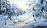 """Картина на холсте """"Торжество зимы"""""""