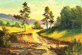 """Картина на холсте """"Последние дни лета"""""""