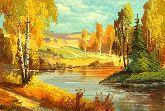 """Картина на холсте """"Осенняя пора"""""""