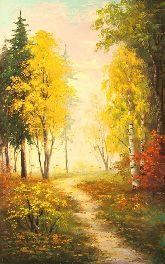 """Картина на холсте """"Осенний мотив"""""""