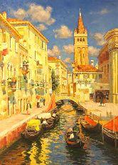 "Картина на холсте ""Венецианский переулок"""