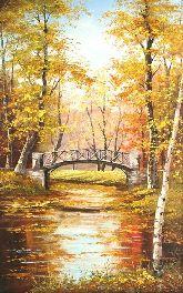 "Картина на холсте ""Царицыно осенью"""