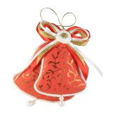 Дизайнерская игрушка Красные колокольчики