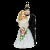 Ёлочная игрушка из Польши Жених и Невеста