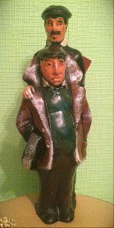 """Глиняная фигура """"Мимино"""" 32 см"""