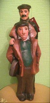 """Глиняная фигура """"Мимино"""" 40 см"""