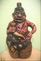 """Глиняная фигура """"Кахетинец"""""""