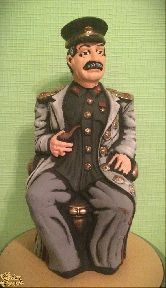 """Глиняная фигура """"Иосиф Виссарионович Сталин"""""""