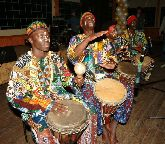 Коллектив музыкантов Африканского ЭТНО